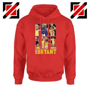 For Life LA Basketball Hoodie Kobe Bryant Hoodies S-2XL