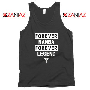 Forever Mamba Black Tank Top