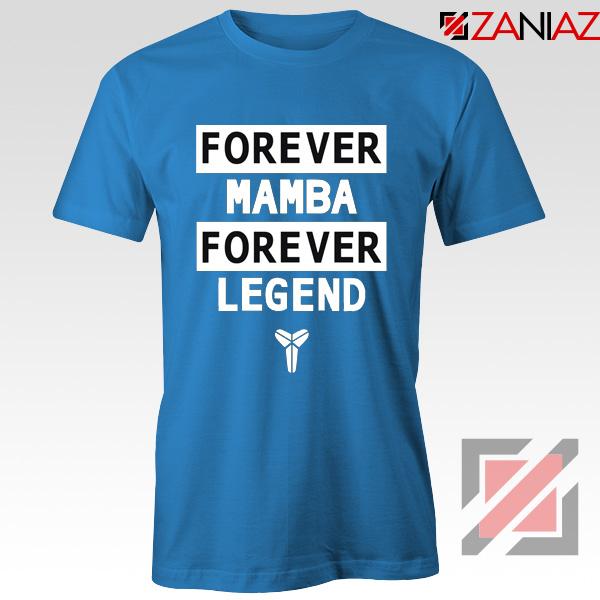 Forever Mamba Blue Tee Shirt