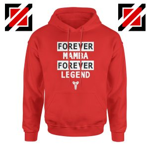 Forever Mamba Red Hoodie