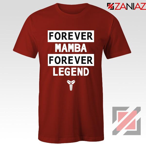 Forever Mamba Red Tee Shirt