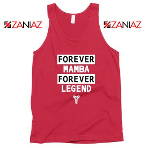 Forever Mamba Tank Top Kobe Bryant Legend Tops S-3XL
