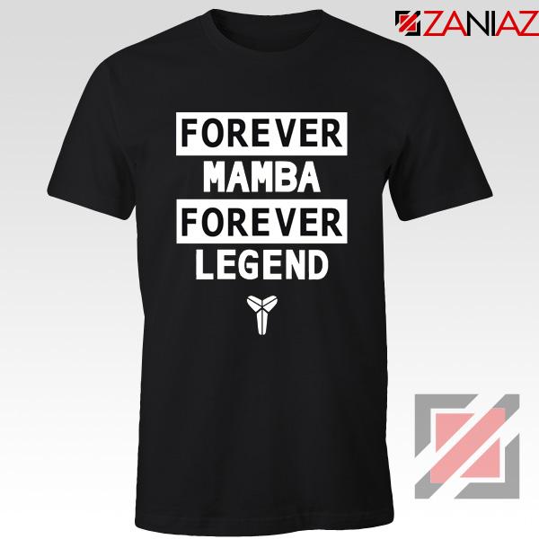 Forever Mamba Tee Shirt Kobe Bryant Legend Tshirts S-3XL