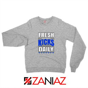Fresh Kicks Daily Sweatshirt Sneaker Head Gift Sweatshirt Size S-2XL