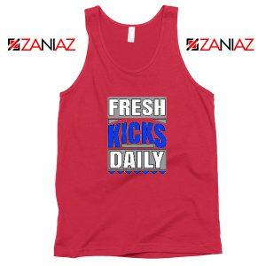 Fresh Kicks Daily Tank Top Best Sneaker Head Gift Tank Top Size S-3XL Red