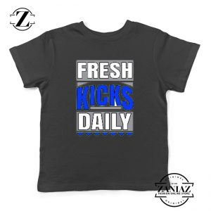 Fresh Kicks Daily Youth Shirts Sneaker Head Gift Kids T-Shirt Size S-XL