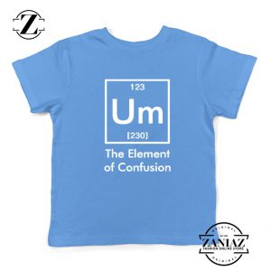 Funny Chemistry Youth Shirts Element of Confusion Kids t-Shirt