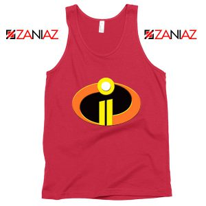 Incredibles Logo Tank Top Disney Pixar Halloween Tops S-3XL