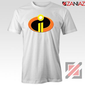 Incredibles Logo Tshirt Disney Pixar Halloween Tee Shirts S-3XL White