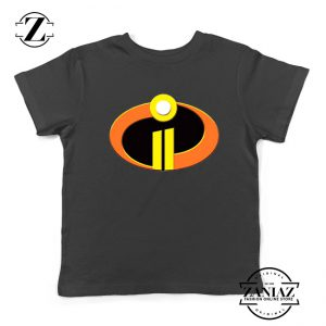 Incredibles Logo Youth Tshirt Disney Pixar Halloween Kids Tee Shirts S-XL