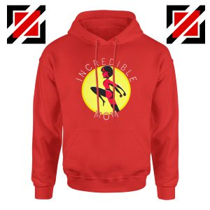 Incredibles Mom Hoodie Disney Pixar Best Hoodies S-2XL Red