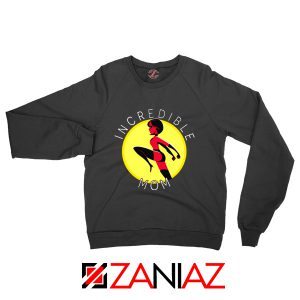 Incredibles Mom Sweatshirt Disney Pixar Best Sweaters S-2XL Black