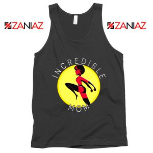 Incredibles Mom Tank Top Disney Pixar Best Tops S-3XL Black