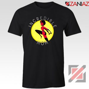 Incredibles Mom Tshirt Disney Pixar Tee Shirts S-3XL Black