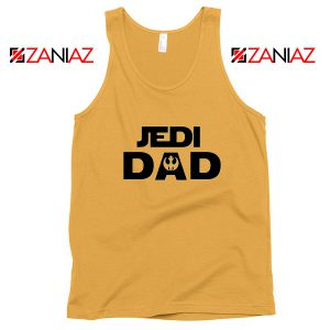 Jedi Dad Tank Top Star Wars Universe Tops S-3XL Sunshine
