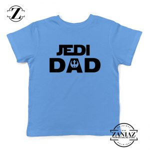 Jedi Dad Youth Tshirt Star Wars Universe Kids Tee Shirts S-XL