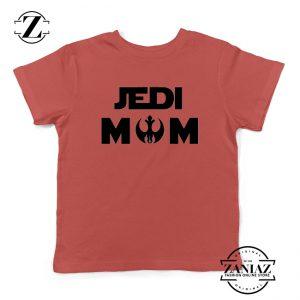 Jedi Mom Kids Tee Shirt Star Wars Universe Youth Tshirts S-XL Red