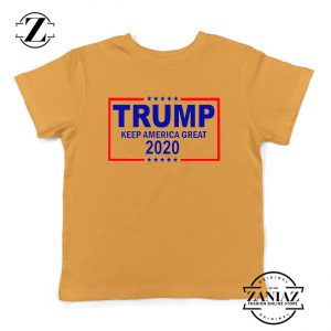 Keep America Great Kids Tshirt Trump 2020 Youth Tee Shirts S-XL