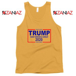 Keep America Great Tank Top Trump 2020 Tops S-3XL Sunshine