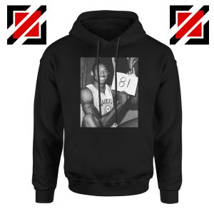Kobe Bryant 81 Point Hoodie Basketball Hoodies S-2XL