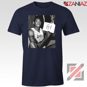 Kobe Bryant 81 Point Tshirt Basketball Funny Tee Shirts S-3XL