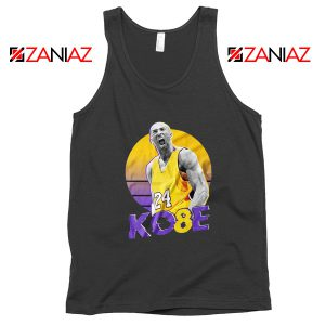 Kobe Bryant Basketball Tank Top NBA Merch Tops S-3XL