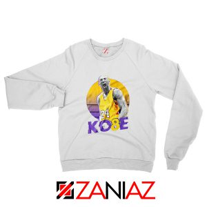 Kobe Bryant Basketball White Sweater