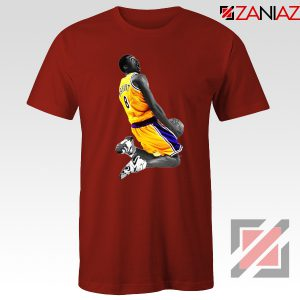 Kobe Bryant Dunk Red Tshirt