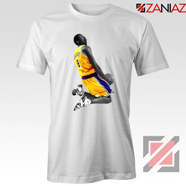 Kobe Bryant Dunk White Tshirt