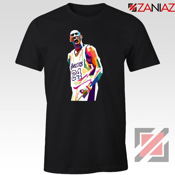 Kobe Bryant NBA Black Tshirt