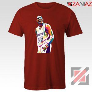 Kobe Bryant NBA Red Tshirt