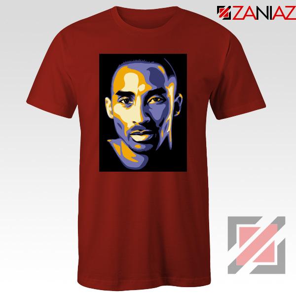 Kobe Bryant Poster Red Tee Shirt