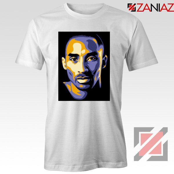 Kobe Bryant Poster White Tee Shirt