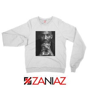 Kobe Bryant RIP White Sweatshirt