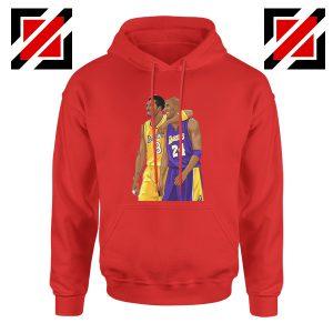 Kobe Bryant Red Hoodie