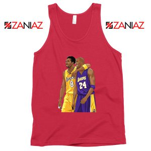 Kobe Bryant Red Tank Top