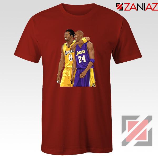 Kobe Bryant Red Tshirt