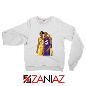Kobe Bryant White Sweatshirt