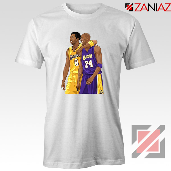 Kobe Bryant White Tshirt