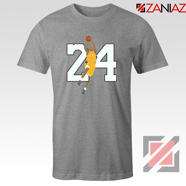 Kobe Dunk Poster Tee Shirts Basketball Player Tshirts S-3XL