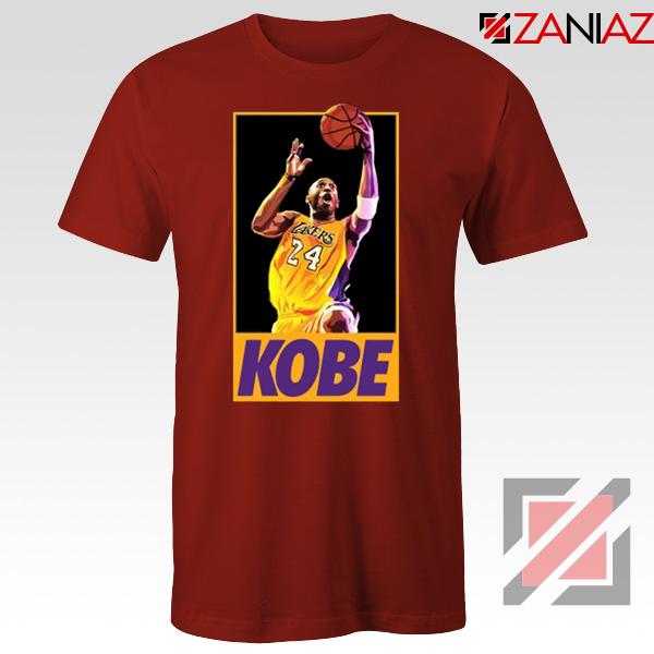 Kobe Dunk Top Red Tee Shirt