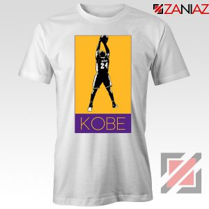 Kobe Los Angeles Lakers White Tshirt