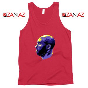 Kobe NBA Championships Red Tank Top