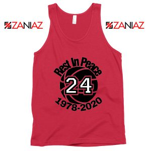 Lakers Black Mamba Forever Red Tank Top