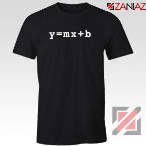 Linear Equation Tshirt Mathematics Internet Algebra Tee Shirts S-3XL Black