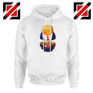 Make Great Again Hoodie Gift Trump Hoodies S-2XL White