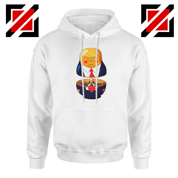 Make Great Again Hoodie Gift Trump Hoodies S-2XL White