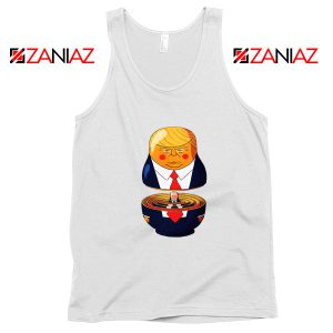 Make Great Again Tank Top Gift Trump Tops S-3XL White