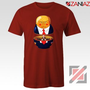 Make Great Again Tee Shirt Gift Trump Tshirts S-3XL Red