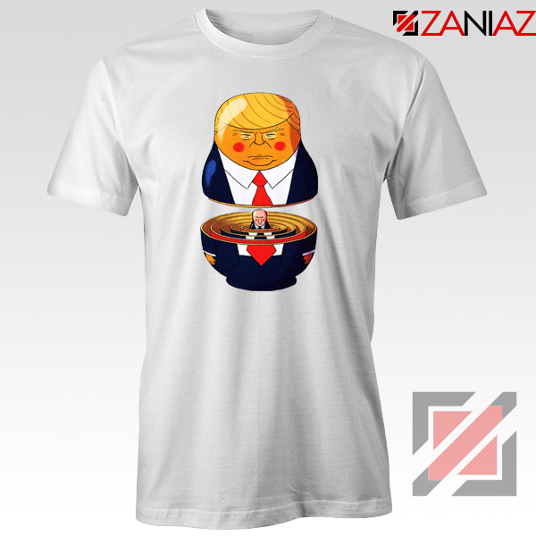 Make Great Again Tee Shirt Gift Trump Tshirts S-3XL White